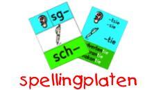 spellingsplaten en andere werkbladen e.d