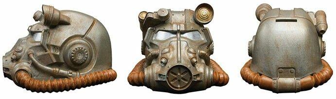 $38 Power armour helmet coin bank