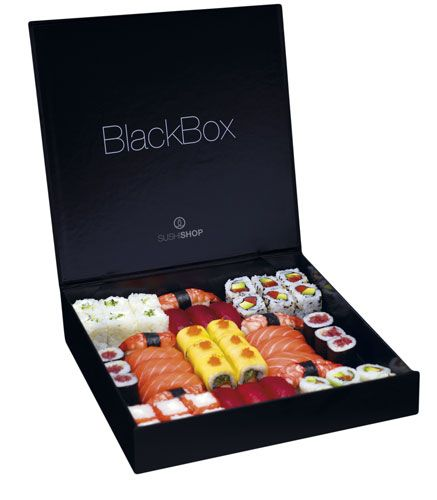 Sushi Shop New York - packaging PD