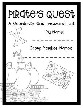 Pirate Quest A Coordinate Grid Treasure Hunt: Extension