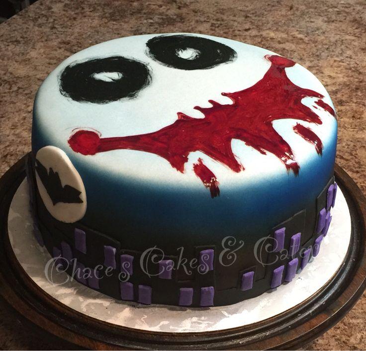Joker Birthday Cake Birthday Cakes Joker Cake Cake