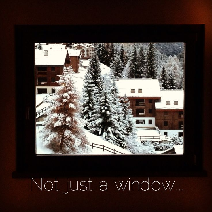 Not just a window...