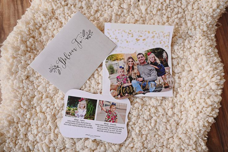 tips for creating christmas cards this holiday season with tiny prints