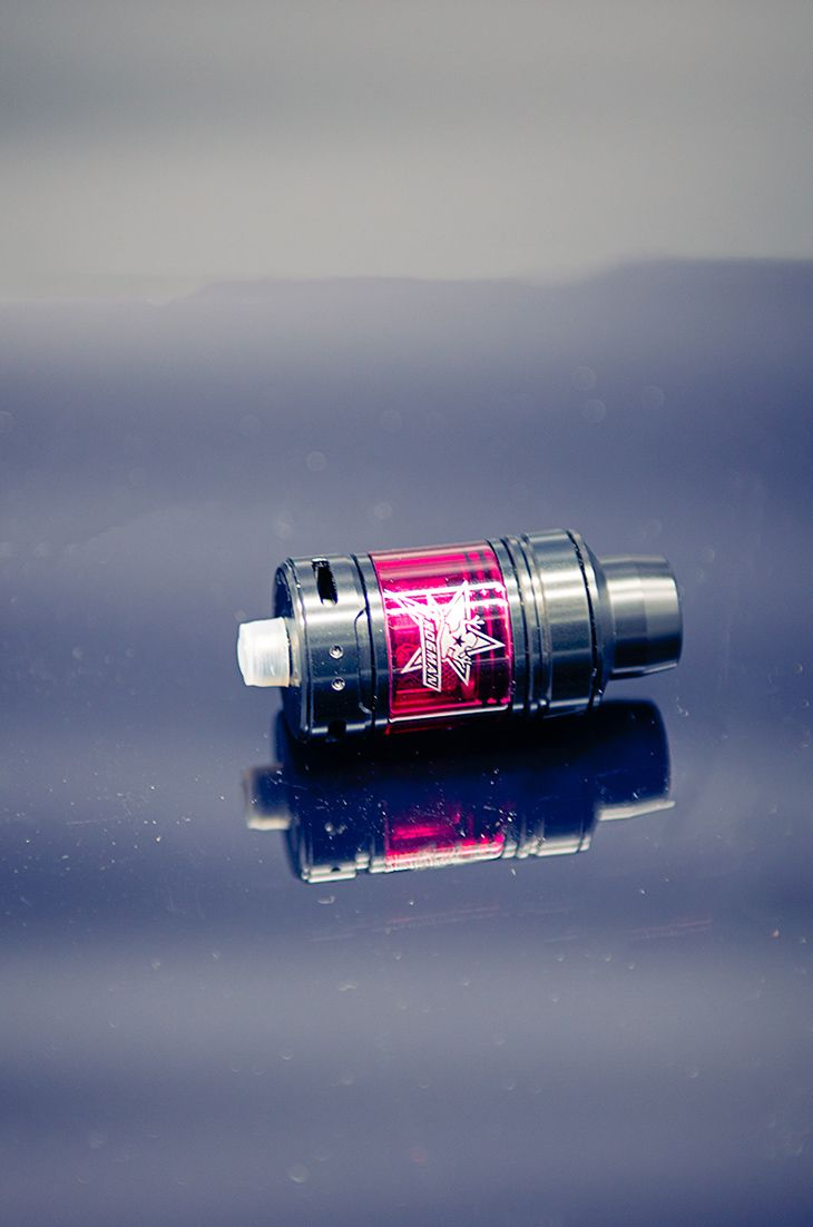 Vaptio Frogman Tank, 5 colors glass tube available now!