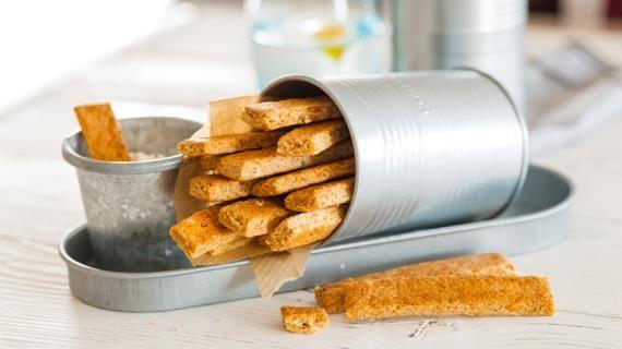 Овсяные палочки с сыром, пошаговый рецепт с фото