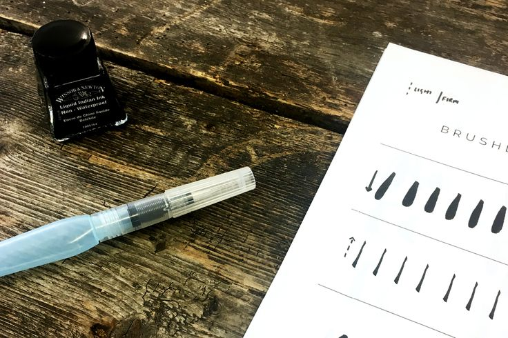 A couple of weeks ago I went to a brush lettering workshop at One Girl Band, run by the lovely Lola Hoad of Lola HoadDesign. I heard about the course after I saw Lola speak at a Benefit Cosmetics …