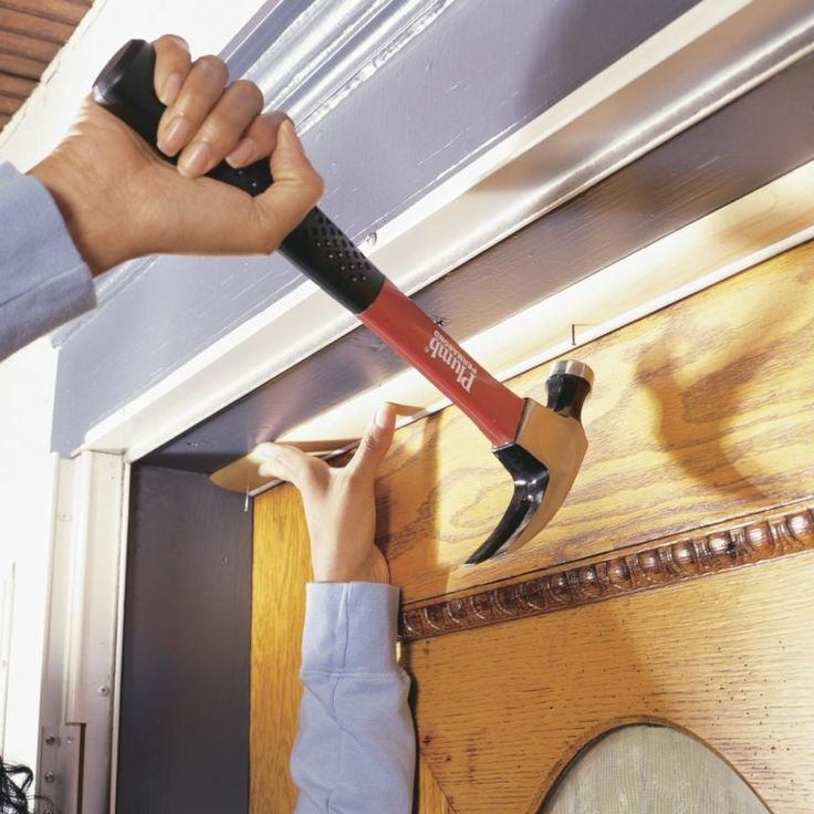 Installing Weather Stripping & Door Sweeps (With images