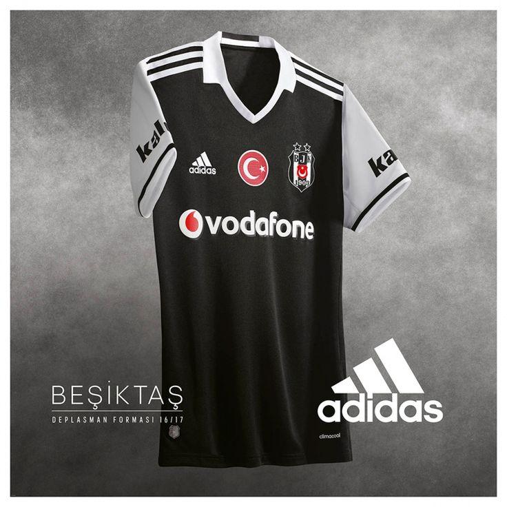 Camisas do Besiktas 2016-2017 Adidas Reserva