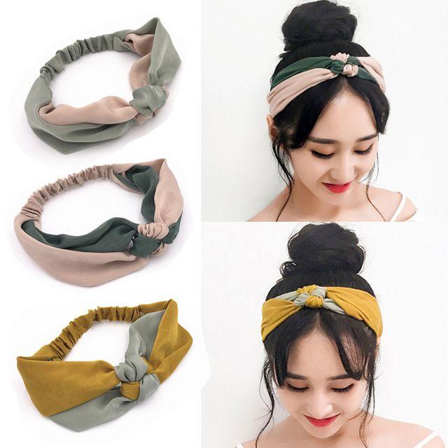Headbands – A headband made of fleece or cotton as a chic