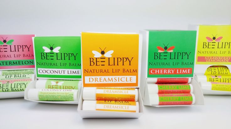 Bee Lippy All Natural Lip Balm. Made With Love in Vancouver, Canada.