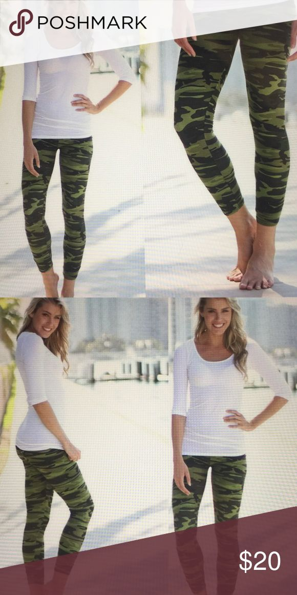 "Khaki leggings. Size medium. These fashionable khaki leggings are all the rage! Size M is 38"" to 39"" hips. Pants Leggings"