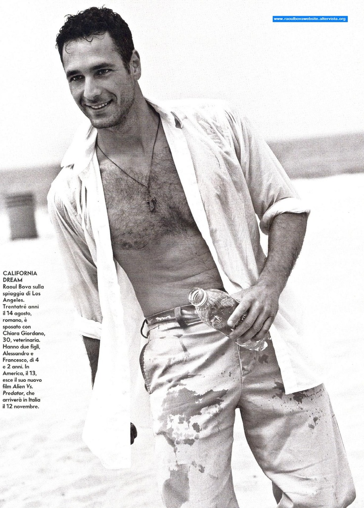 Raoul Bova (from Under the Tuscan Sun.  Remember that movie?)