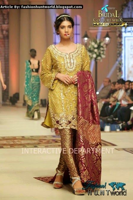 Saira Rizwan Bridal Collection 2015-2016 at Telenor Bridal Couture Week Day 2 - TBCW-14 - Fashion Hunt World   Fashion That Makes You Different