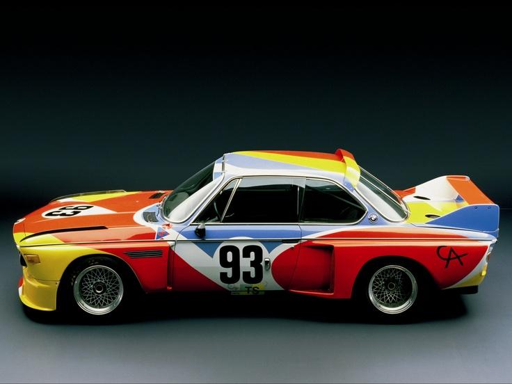 1975 BMW 3.0 CSL Art Car by Alexander Calder (E9): Alexander Calder, Bmw 30, Art Cars, Bmw Art, Csl Art, 1975 Bmw, 3 0 Csl, Bmw 3 0, Bmw Cars