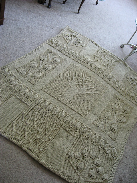 Ravelry: Nature in Natural Afghan pattern by Lion Brand Yarn