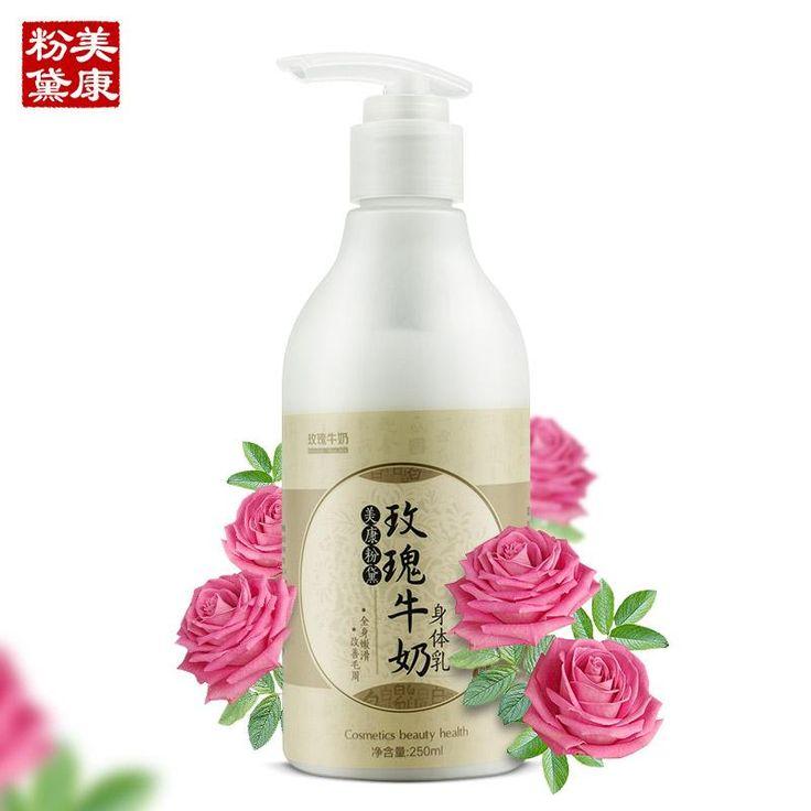 MEIKING Rose Milk Body Creams Skincare Moisturizing Female Skin Care Body Lotion 250ML
