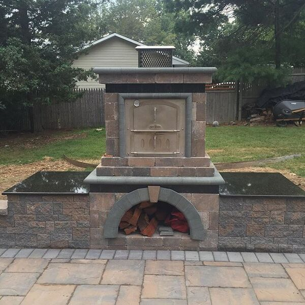 create the ultimate outdoor kitchen with an outdoor pizza oven cambridge offer outdoor amenities