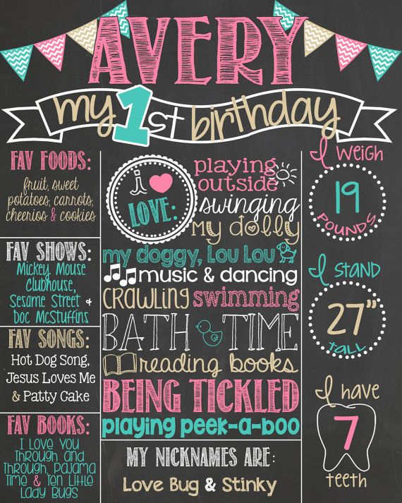 first birthday board template - best 20 first birthday board ideas on pinterest