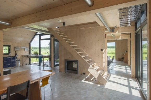 Twents schuurhuis architectuur for Interieur architectuur