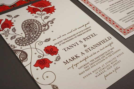 Hey, I found this really awesome Etsy listing at https://www.etsy.com/listing/94618588/wedding-invitation-east-meets-west-india
