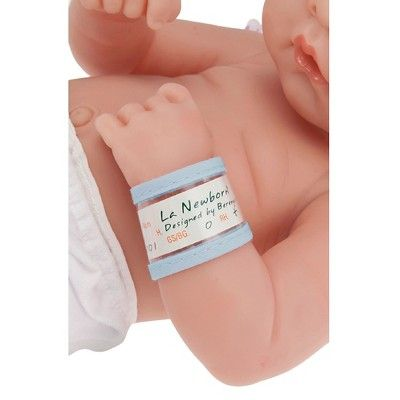 "JC Toys La Newborn 14 Anatomically Correct Real Boy Asian Baby Doll - ""First Day"". Made in Spain"