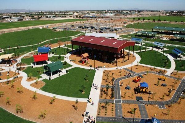 "Tumbleweed Park In Chandler (3 Acre Children's ""Playtopia"