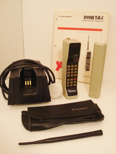 Motorola DynaTAC, do you remember?