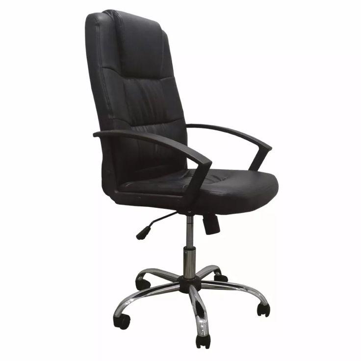 sillón ejecutivo ergonómico cromado oficina envío gratis