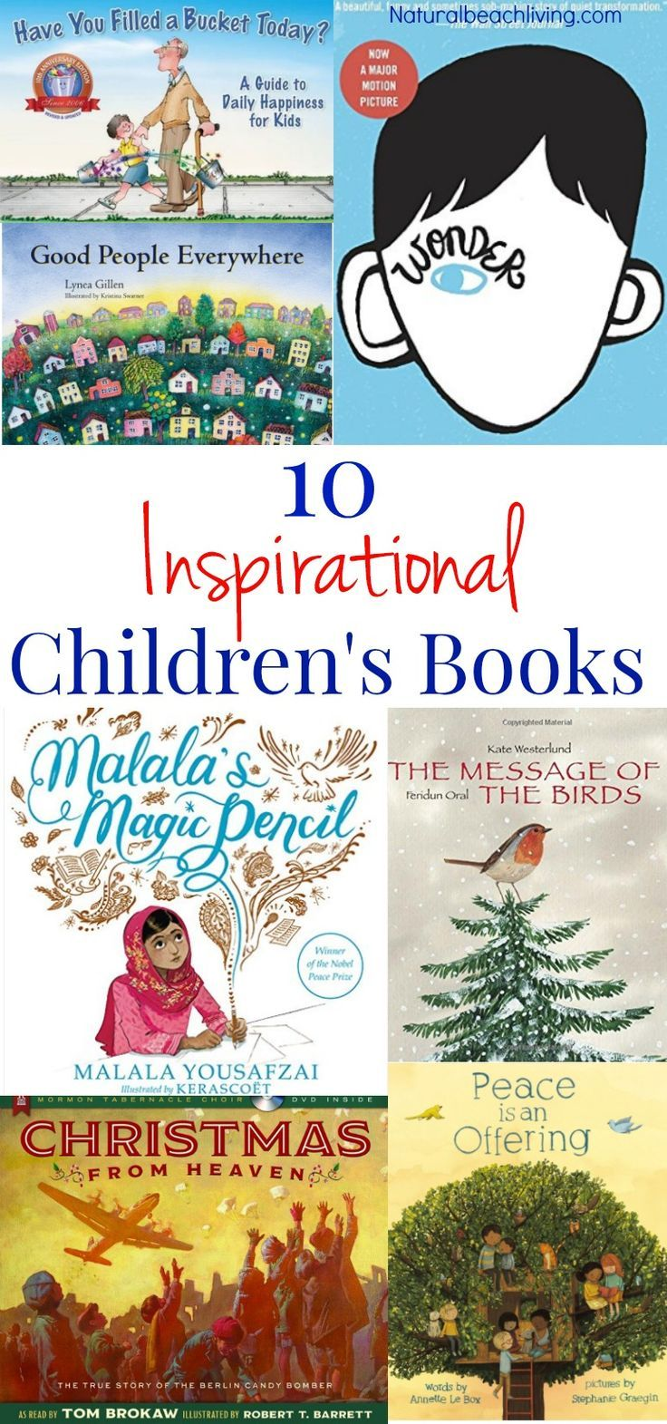 10+ Children's Books That Will Inspire You