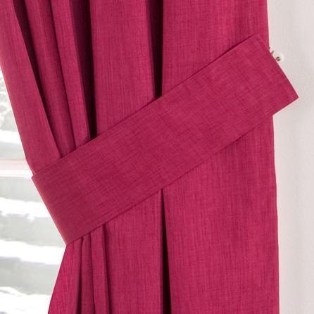 Dunelm Pink Curtain Tiebacks