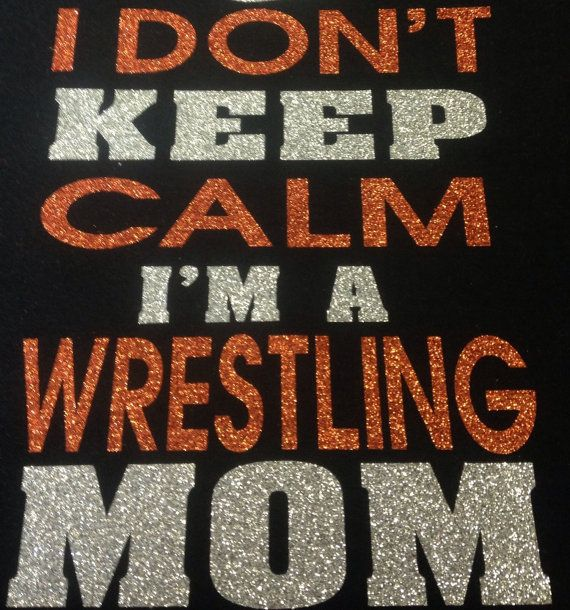 Wrestling Mom t-shirt by TripleMEmbroidery on Etsy
