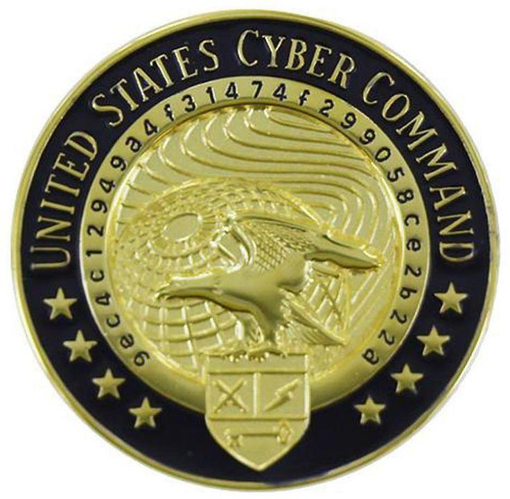 US Identification Dress Badge United States Cyber Command