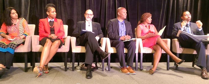 Why Education Power Trumps Voice. From left: Anita Wadhwa, Valissia Allen, Ric Zappa, Eldridge Greer, Amanda Aiken, John B. King, Jr.
