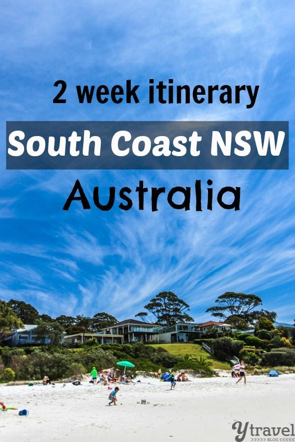 2 Weeks in South Coast NSW - Travel Itinerary