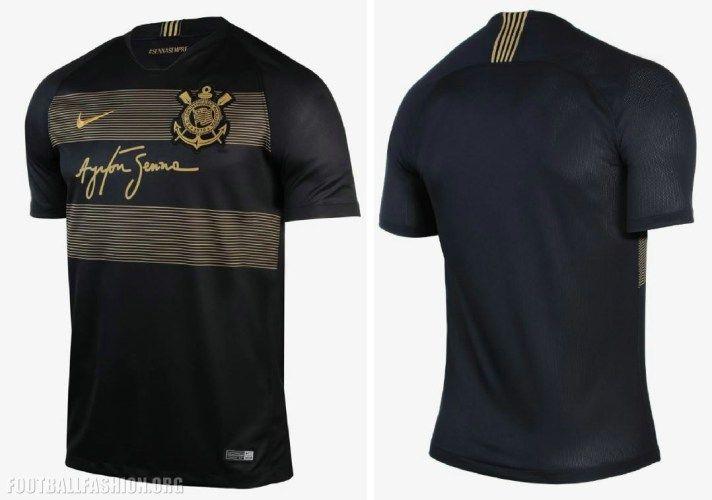 9bb5669401 Corinthians 2018/19 Ayrton Senna Nike Third Kit | Sports Apparel ...