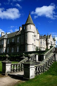 Balmoral Castle held by the Drummonds in 1390 but passed to the Gordons and others before being purchased by Prince Albert, husband of Queen Victoria, in 1852.