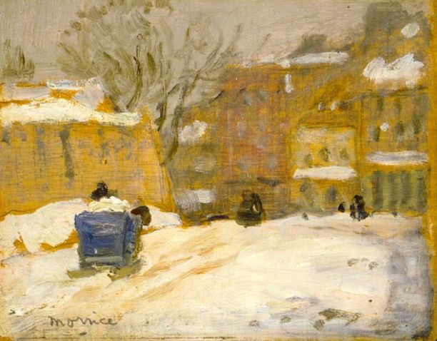 """Street in Quebec"" - James Wilson Morrice 1906"