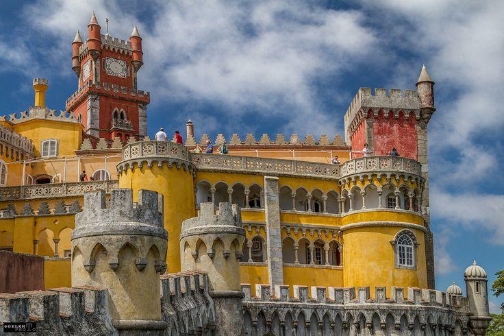 Дворец Пена, Синтра, #Португалия