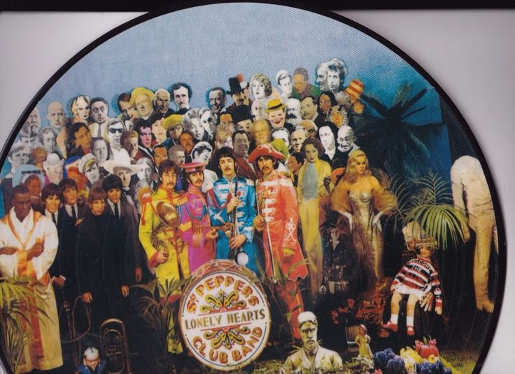 The Beatles Sgt Pepper S Lonely Hearts Club Band 12 Quot Vinyl
