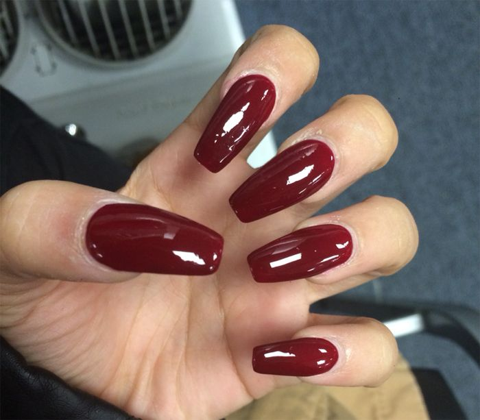 COFFIN SHAPE ACRYLIC NAILS ART IDEAS FOR LONG NAILS