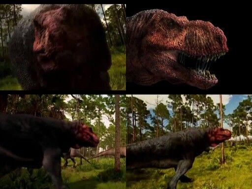 Red Head T Rex Dinosaurs Prehistoric Mammals