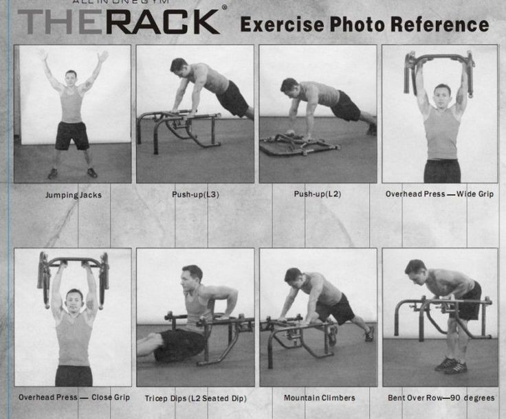 13 best images about The Rack Workout on Pinterest | Ab