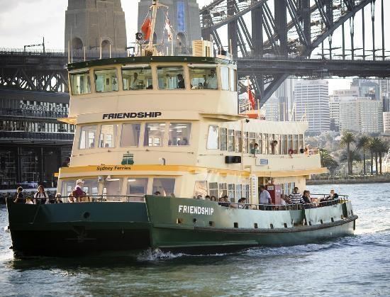 #Sydney Ferries: First Fleet vessel Friendship in Sydney Cove #Australia http://www.tripadvisor.com.au/ShowForum-g255067-i460-Queensland.html
