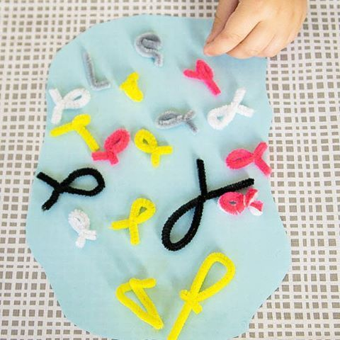 Gone fishin' - Do it yourself fishing game for the kids using pipe cleaners and other household items!  Do it yourself fishing game  #preschool #kidsactivities #kidsactivitiesblog #kidsactivitiesblog #learning #earlychildhoodeducation #craft #thrifty #ig_captures #igworldclub #instagram #instalove #instagramers #holidays #holidayideas #fishing #fish #games #thetinylittledreamer