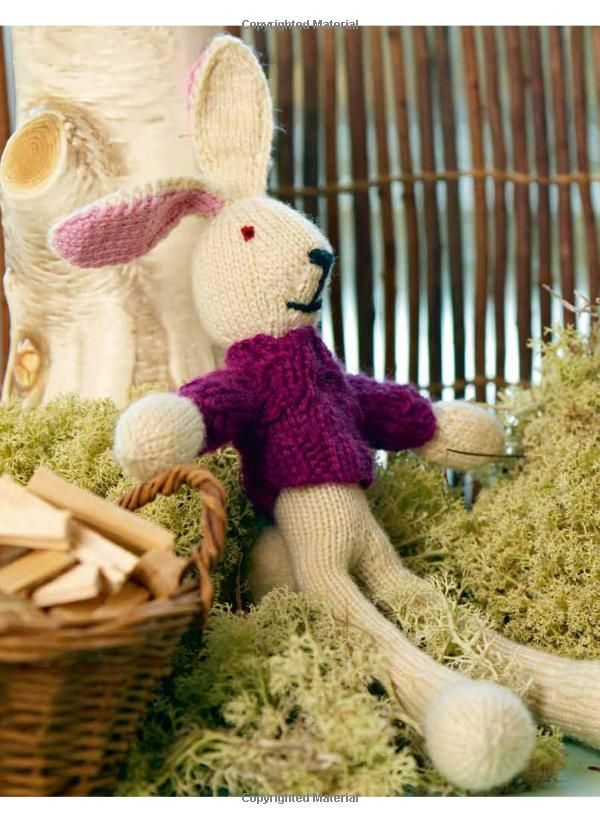 189 best easter crochet and knitting images on pinterest feltro this knit bunny doll makes the perfect easter decoration pair him with some chocolate and jelly beans and you have an ideal easter gift negle Image collections