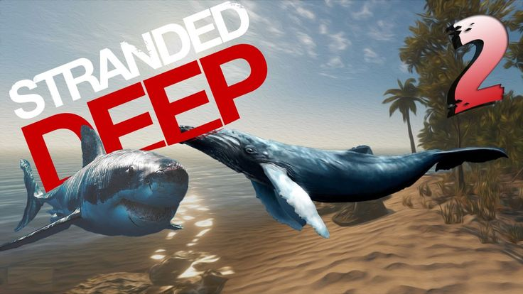 Willy The Whale+Shark Attack!!-Stranded Deep[#2]
