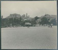 Italia, Roma, Terme di Diocleziano, ca. 1905  vintage silver print. Italy. …