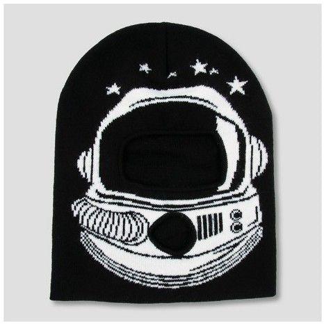 Cat & Jack Boys' Astronaut Beanie - Cat & Jack Black