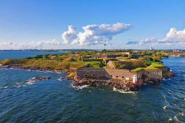 The Island Fortress of Suomenlinna, Helsinki, Finland