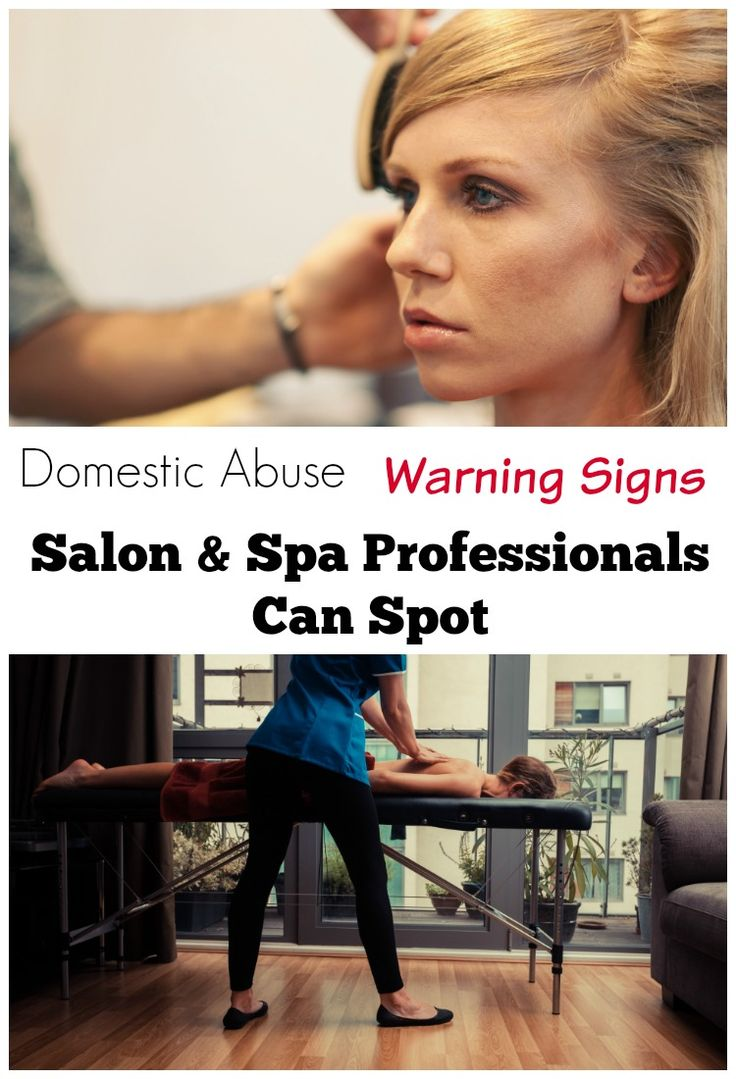 Salon & spa professionals are in such a good place to spot domestic abuse warning signs. Read about all the warning signs & ways they can spot it and try to help.